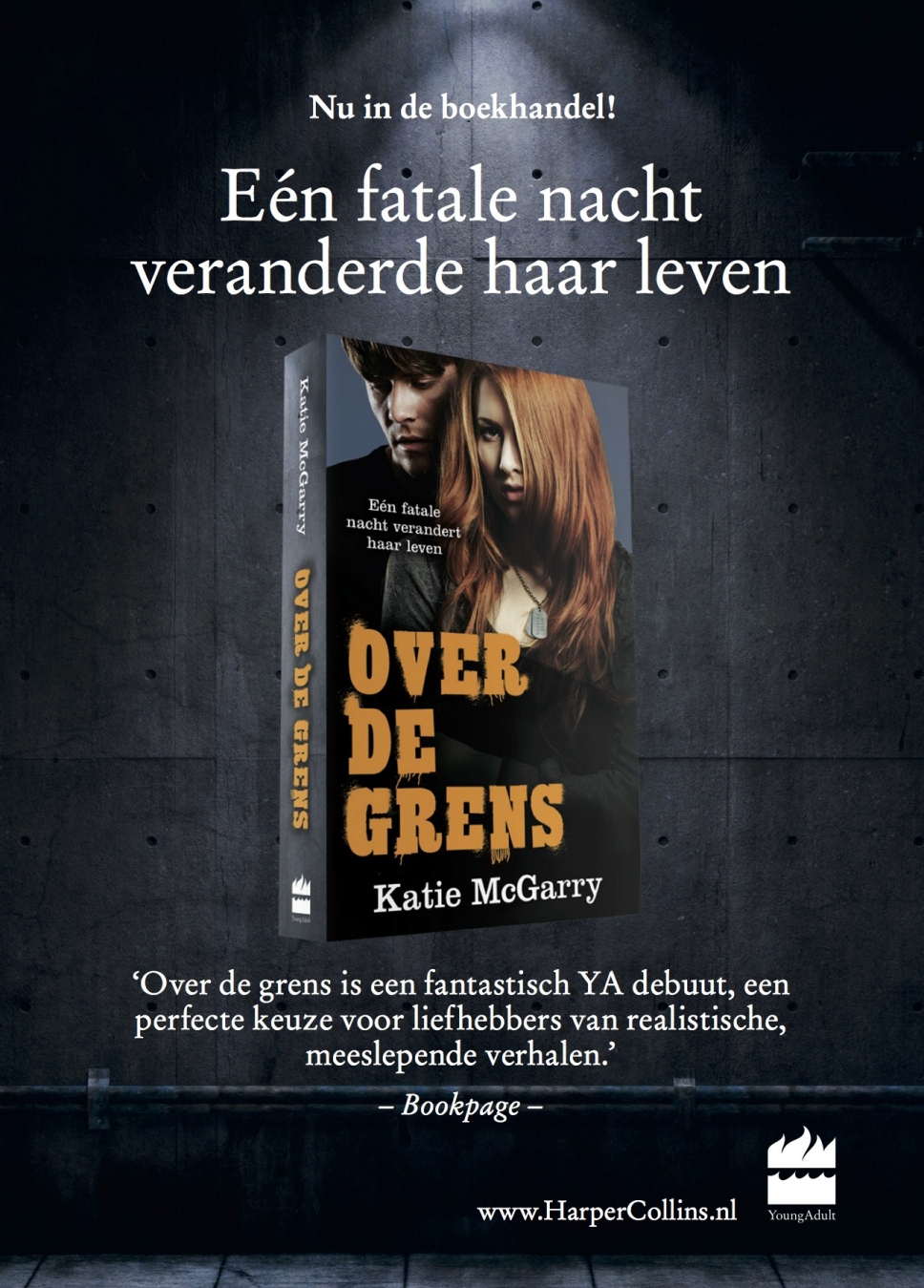 Over de grens (Harlequin)