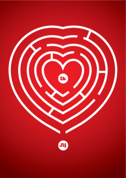 Love is a labyrinth